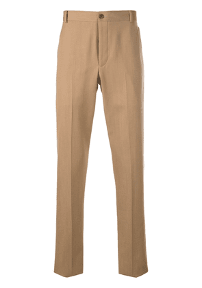 Thom Browne tailored signature trim trousers - Neutrals
