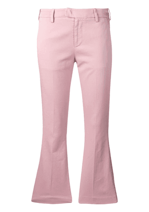Dondup cropped flared trousers - Pink