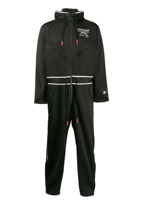 Converse printed jersey jumpsuit - Black