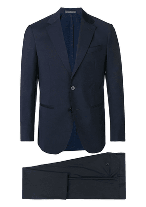 0909 two-piece formal suit - Blue