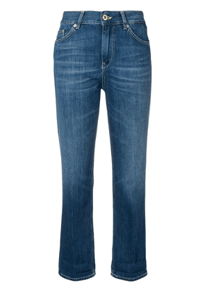 Dondup cropped slim-fit trousers - Blue