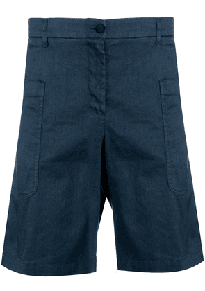 Barena tailored cargo shorts - Blue