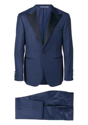 Canali two-piece dinner suit - Blue