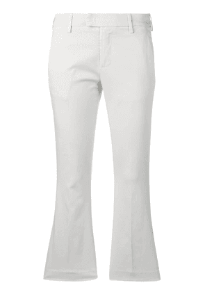 Dondup cropped flared trousers - Grey