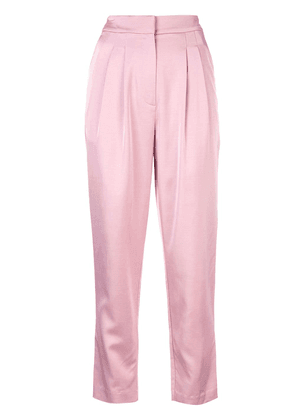 A.L.C. tapered cropped trousers - Pink