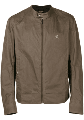 Belstaff Kelland jacket with biker collar - Green