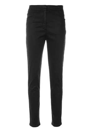 Balmain slim fit trousers - Black