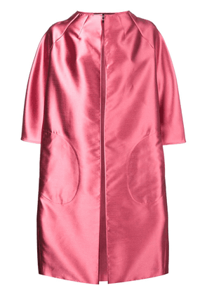 Gianluca Capannolo A-line coat - Pink