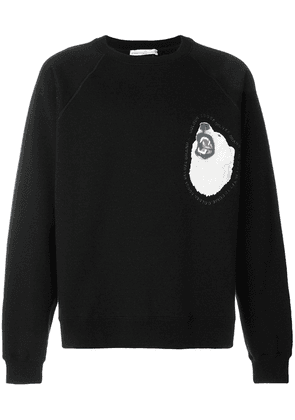 Golden Goose Deluxe Brand Edward long sleeved sweatshirt - Black