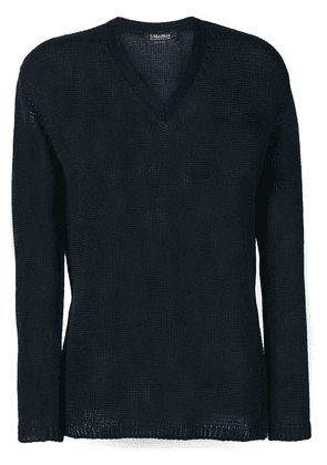 'S Max Mara knitted top - Blue