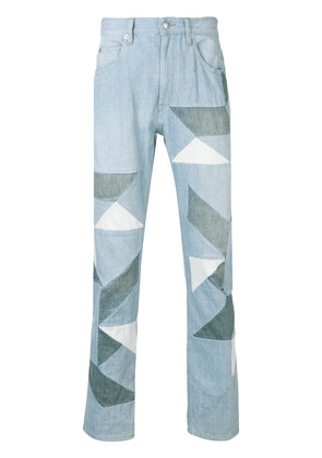 Isabel Marant graphic jeans - Blue