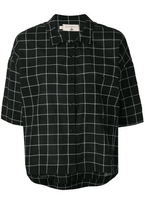 Cotélac check shirt - Black