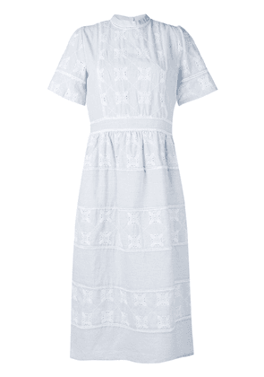 Cotélac lace dress - Blue