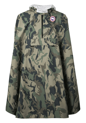 Canada Goose Field Poncho - Green