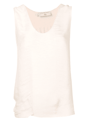 Cotélac pleated vest top - Pink
