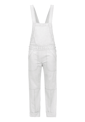 Andrea Bogosian leather jumpsuit - Grey