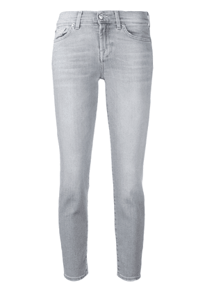 7 For All Mankind Slim Illusion cropped jeans - Grey