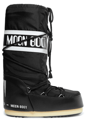 Moon Boot - Shell And Rubber Snow Boots - Black