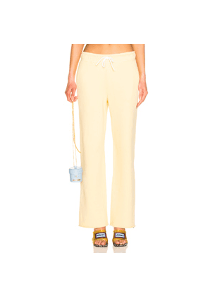 COTTON CITIZEN Brooklyn Sweatpant in Yellow