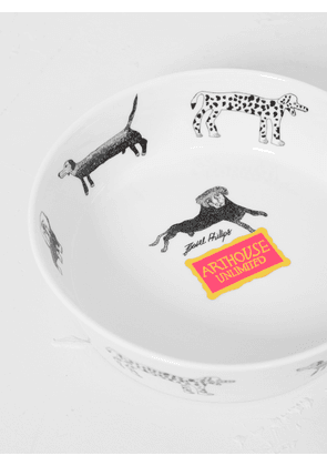 Art House Unlimited Isabel's Dog Bowl