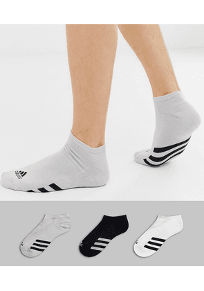 Adidas Golf 3 pack no show socks in multi