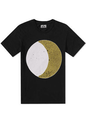 Blue Blue Japan Crescent Moon Tee Black