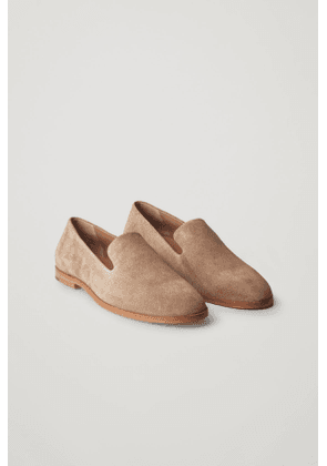 LEATHER SLIP-ON SHOES