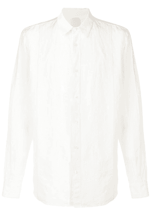 Forme D'expression long-sleeve fitted shirt - White