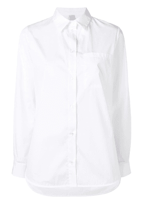 Eleventy long-sleeve fitted shirt - White