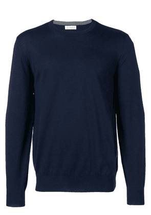 Brunello Cucinelli round neck jumper - Blue