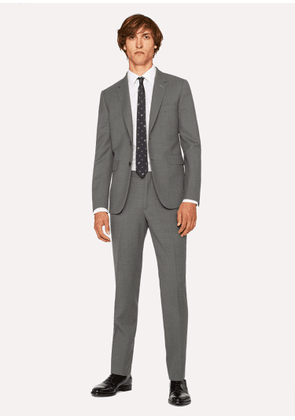 The Kensington - Men's Slim-Fit Grey Wool Suit 'A Suit To Travel In'