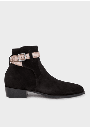 Men's Black Suede 'Denza' Boots