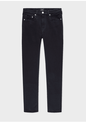 Men's Skinny-Fit 'Blue/Black Reflex' Jeans