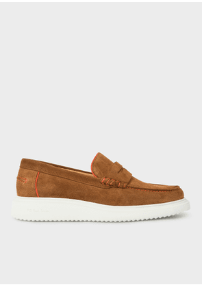 Men's Tan Suede 'Eddie' Loafers