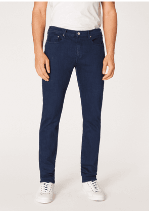 Men's Slim-Fit Navy Garment-Dye 'Reflex Super Stretch' Jeans