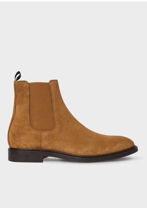 Men's Tan Suede 'Jake' Chelsea Boots