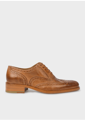 Women's Tan Leather 'Arlo' Brogues