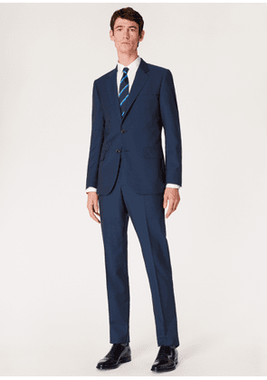 The Mayfair - Men's Classic-Fit Navy Wool-Mohair Suit