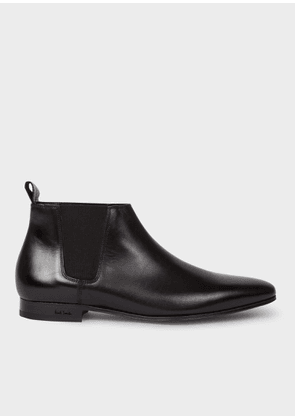 Men's Black Calf Leather 'Marlowe' Chelsea Boots