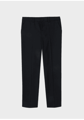 Boys' 12-16 Years Navy 'A Suit To Smile In' Wool Trousers
