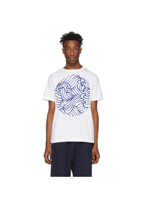 Blue Blue Japan White Wave T-Shirt