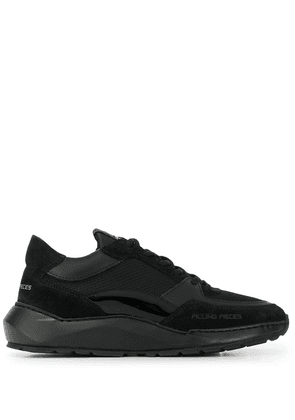 Filling Pieces side logo sneakers - Black