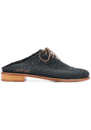 Clergerie natural lace-up shoes - Black