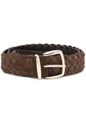 Eleventy classic woven belt - Brown