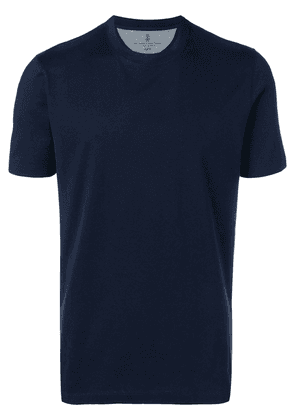 Brunello Cucinelli classic short-sleeve T-shirt - Blue