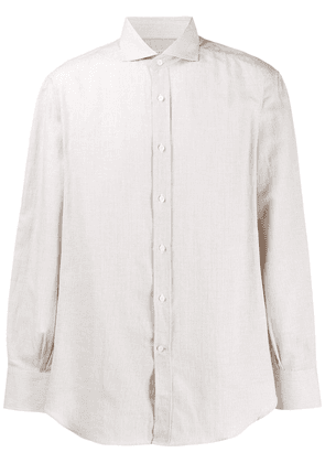 Brunello Cucinelli micro-striped shirt - Neutrals