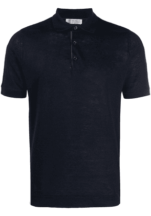 Brunello Cucinelli basic polo shirt - Blue