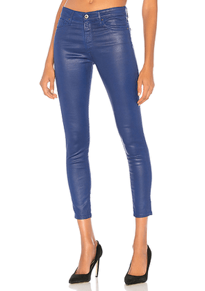 AG Adriano Goldschmied Farrah Skinny Ankle in Blue. Size 26,27,29,30.