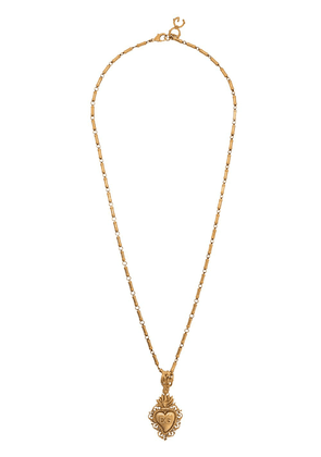 Dolce & Gabbana logo long length necklace - Gold