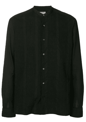 Al Duca D'Aosta 1902 embroidered lace print shirt - Black